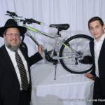 Bike winner Nesanel Applebaum