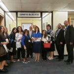 Chedva Weingarten, Faigy Hertz, Yettie Katz, Assemblymember Stacey Pheffer Amato, Mrs. Leah Steinberg, Assemblymember Michael Benedetto...