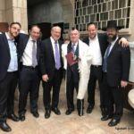 Moises Azrak, Naftali Miller, Shmuel Yosef Rieder, Victor Azrak